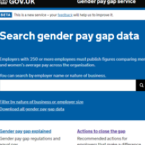 100% of UK employers publish gender pay gap data