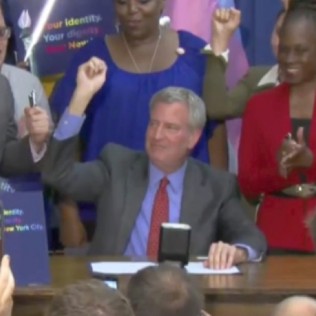 New York City creates gender-neutral 'X' option for birth certificates