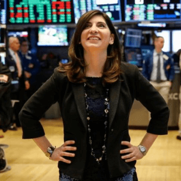Stacey Cunningham, the NYSE's first female president