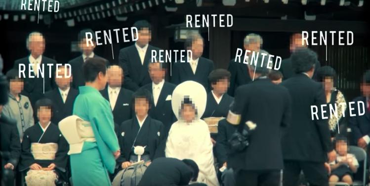 圖片來源:紀錄片《家人出租公司(Rent a family Inc.)》截圖