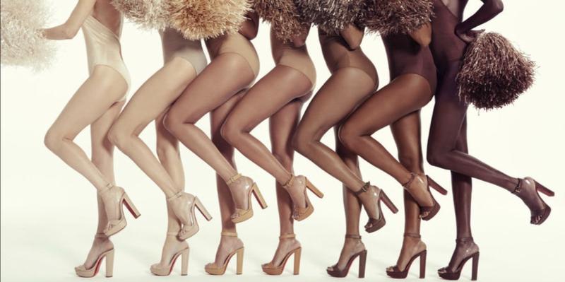 Christian Louboutin用芭蕾舞鞋來靈感就是要反傳統,擁抱多元化社會。(網上圖片)