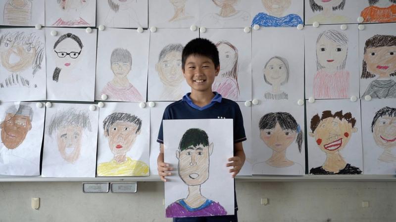 """日本美妝品牌Shiseido與創意代理商R/GA一同創作""""My Crayon Project"""",以蠟筆打破小朋友先入為主的概念。(R/GA)"""