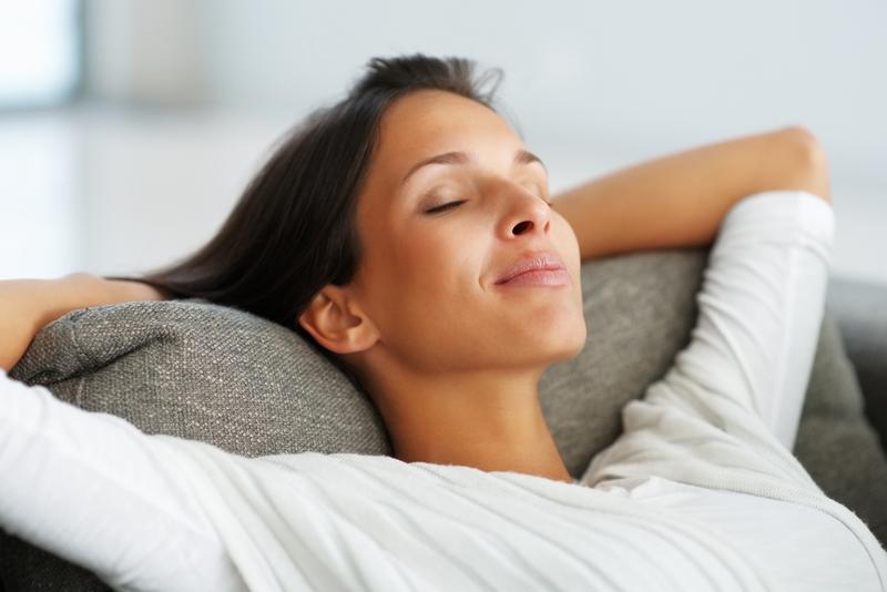任何姿態放鬆,都是妳的寧靜時刻。